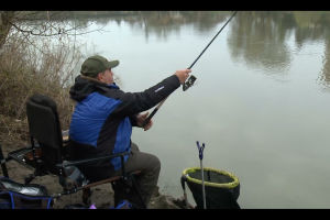 Pescuit la feeder pe raul Mures