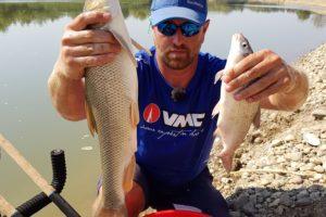 Pescuit cu Sweet Fishmeal pe raul Mures